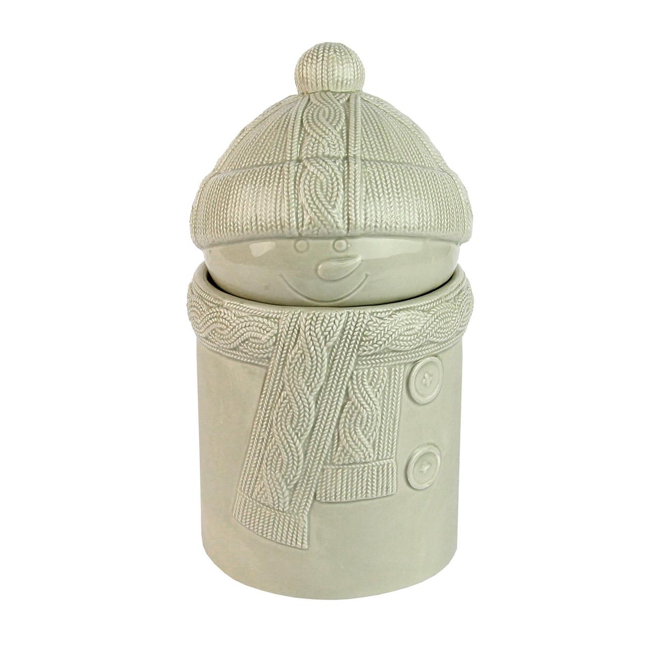 Recipient Om De Zapada Din Ceramica Gri