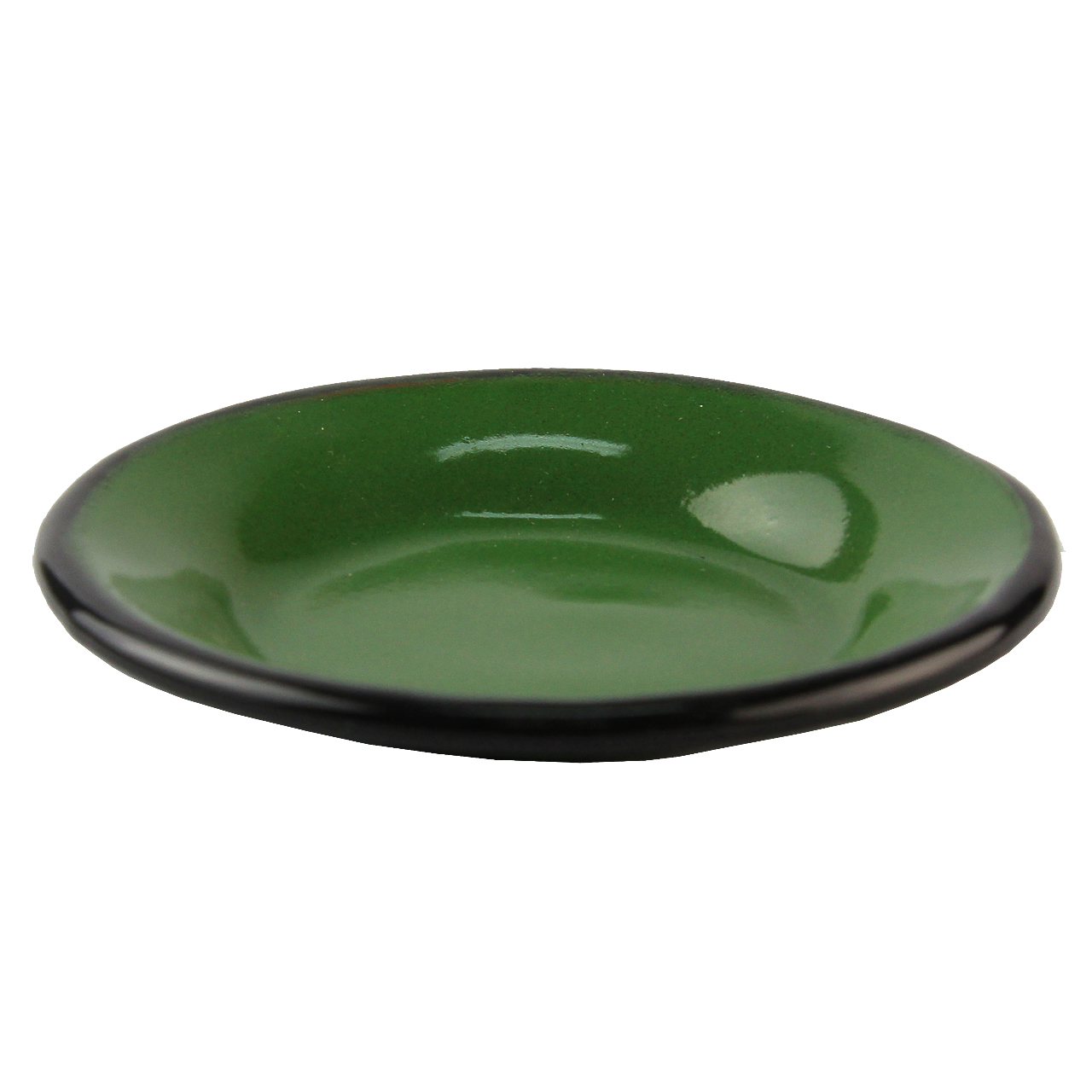 Farfurie Din Metal Verde 9 Cm