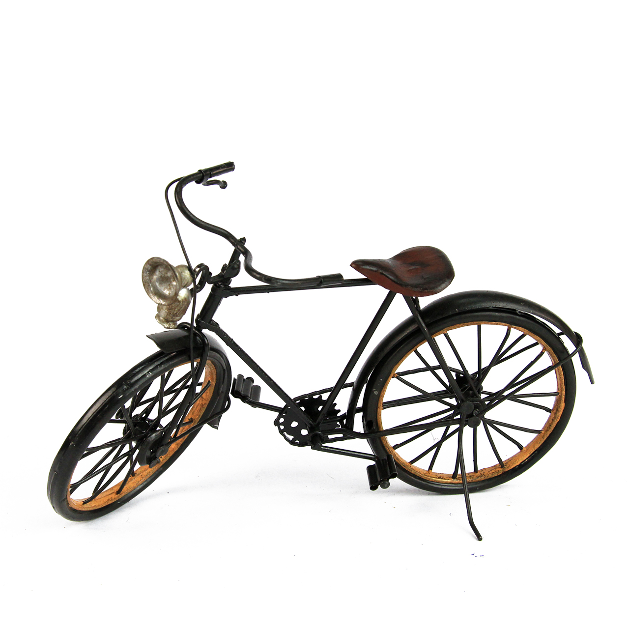 Macheta Bicicleta Din Metal Negru
