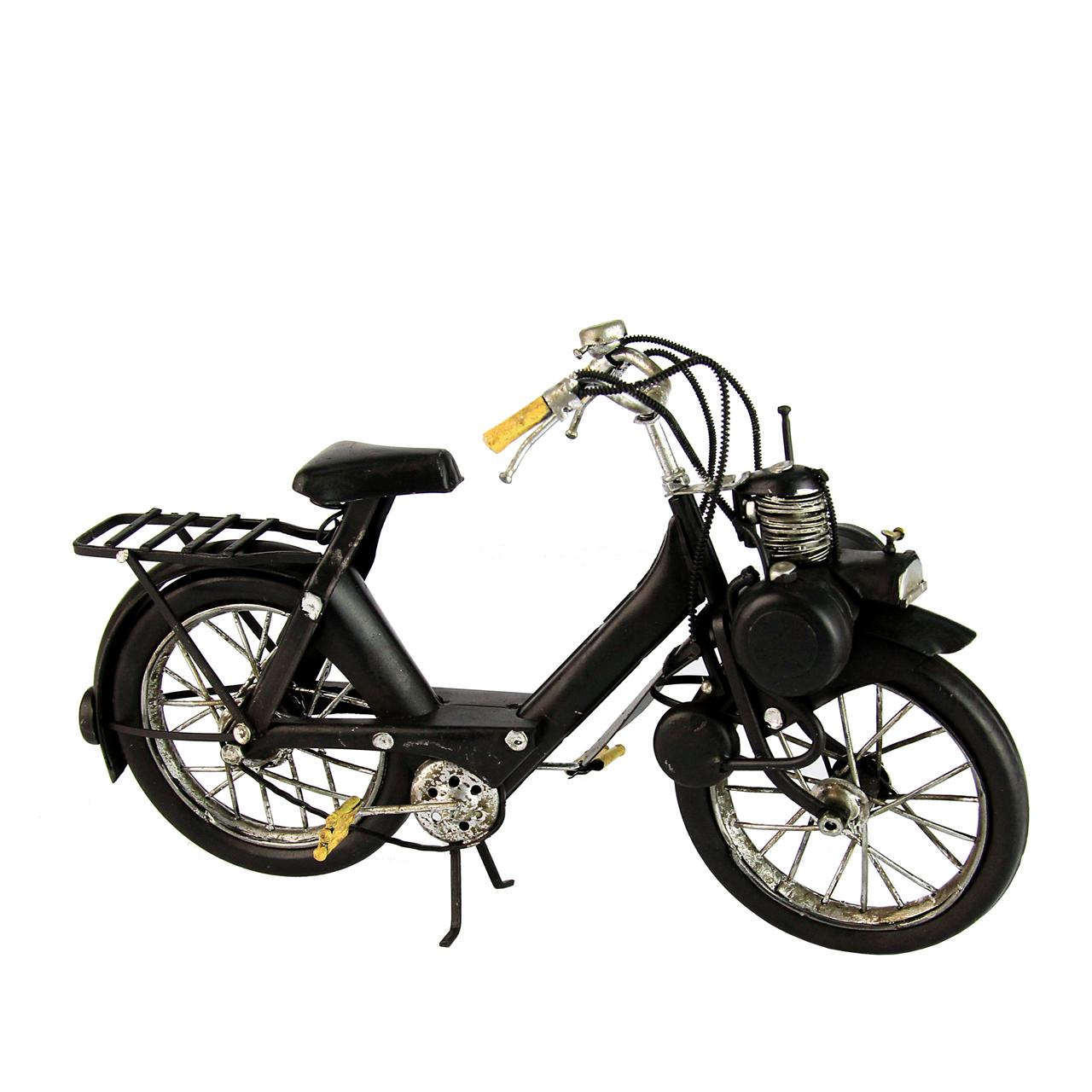 Macheta Bicicleta Din Metal Negru 23 Cm