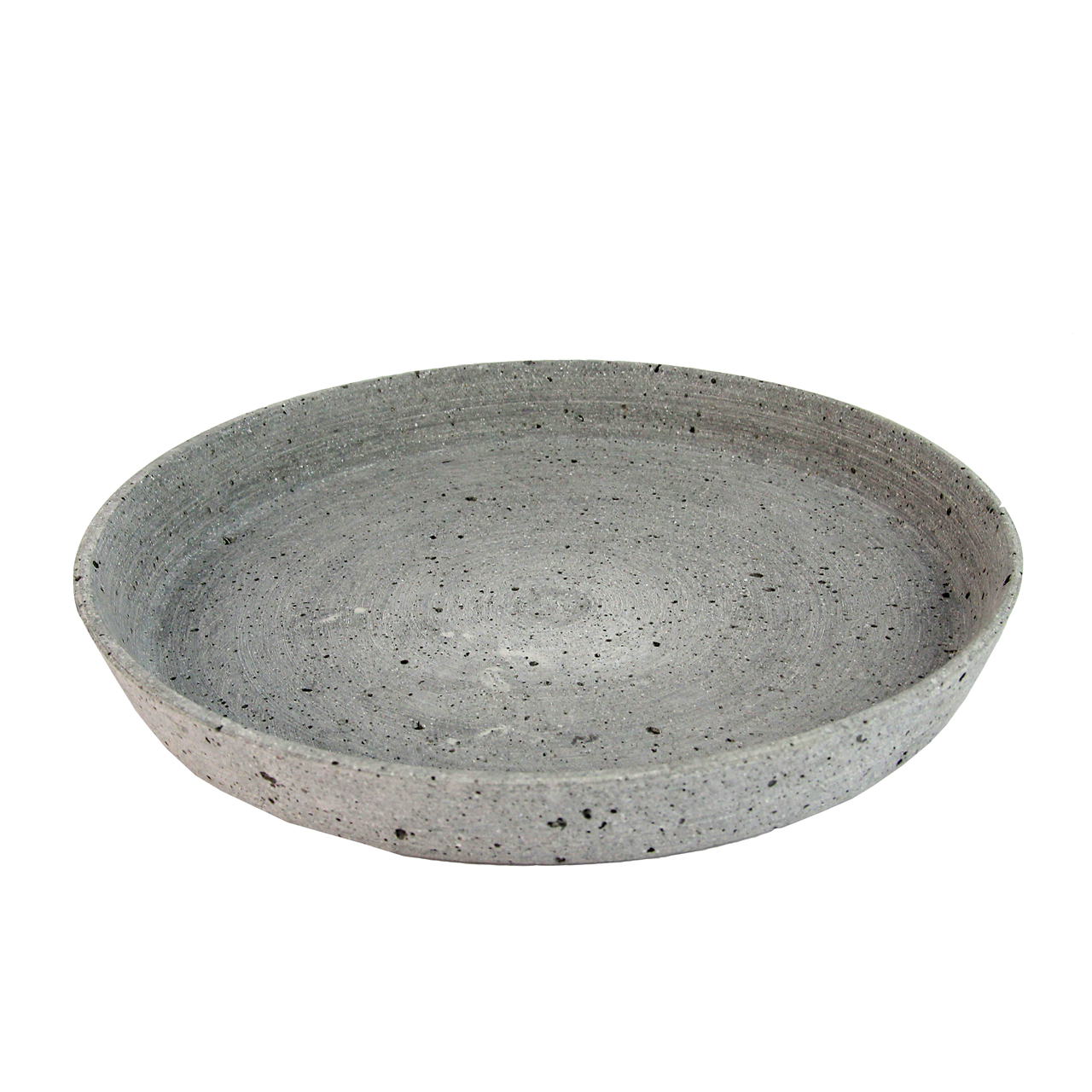 Tava Rotunda Din Ciment Gri 25 Cm