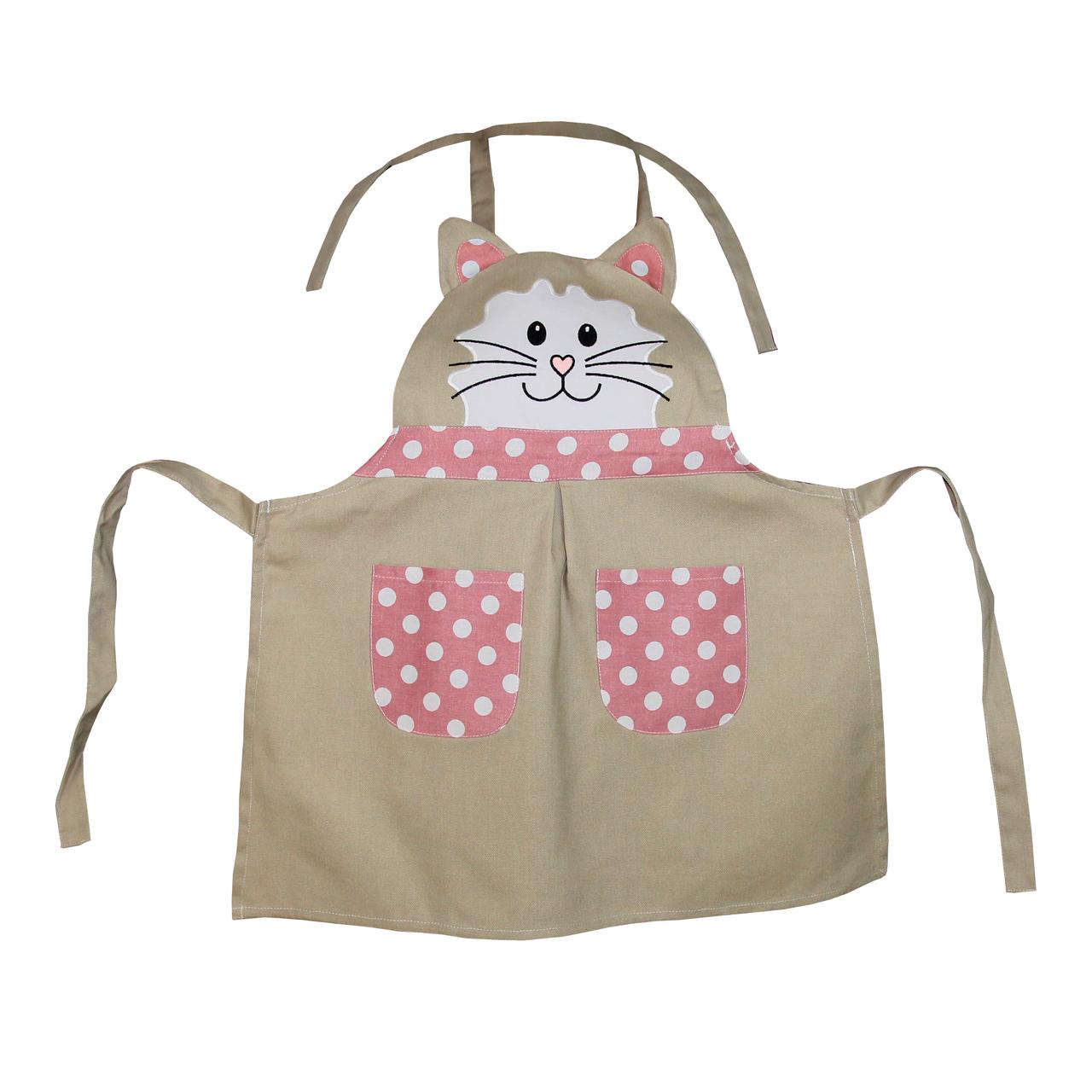 Sort De Bucatarie Pentru Copii Cu Pisica 57x57 Cm