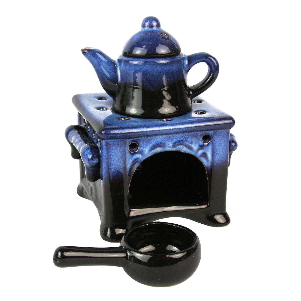 Odorizant Pentru Camera Ceainic Din Ceramica Albas