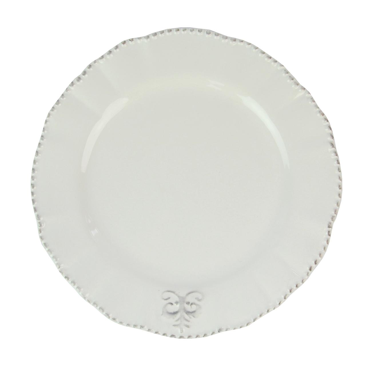 Farfurie Din Ceramica Alba 20 Cm