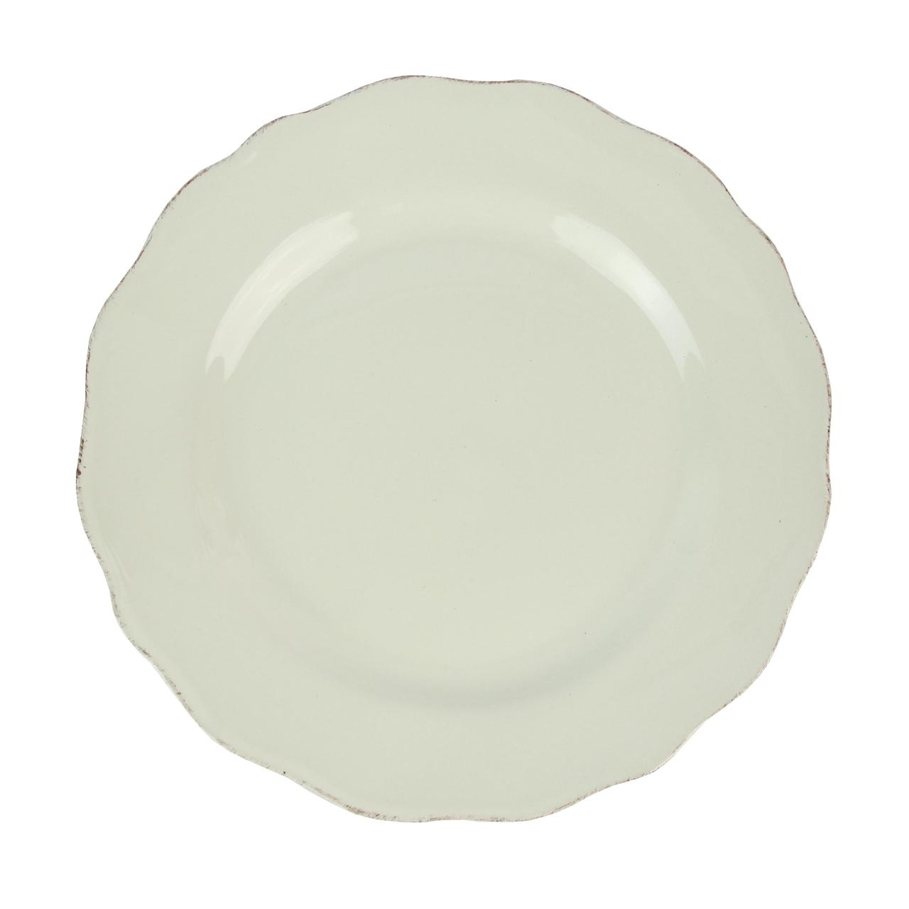 Farfurie Plata Din Ceramica Bej 27 Cm