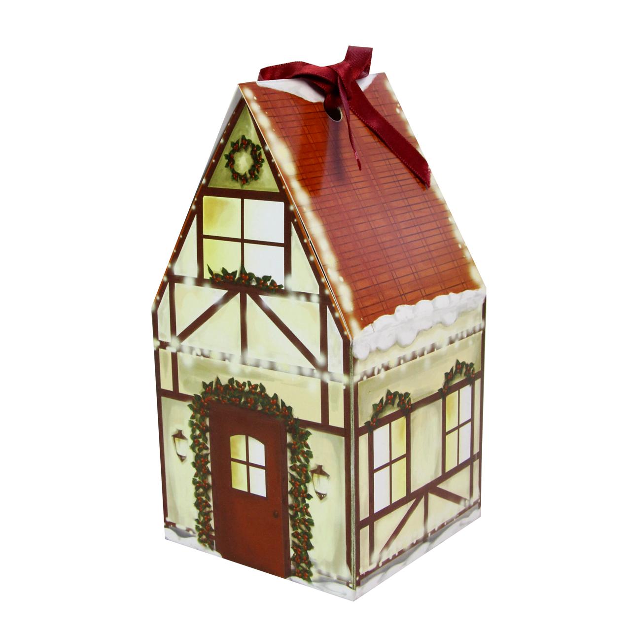 Cutie Pentru Cadou Casuta Din Carton