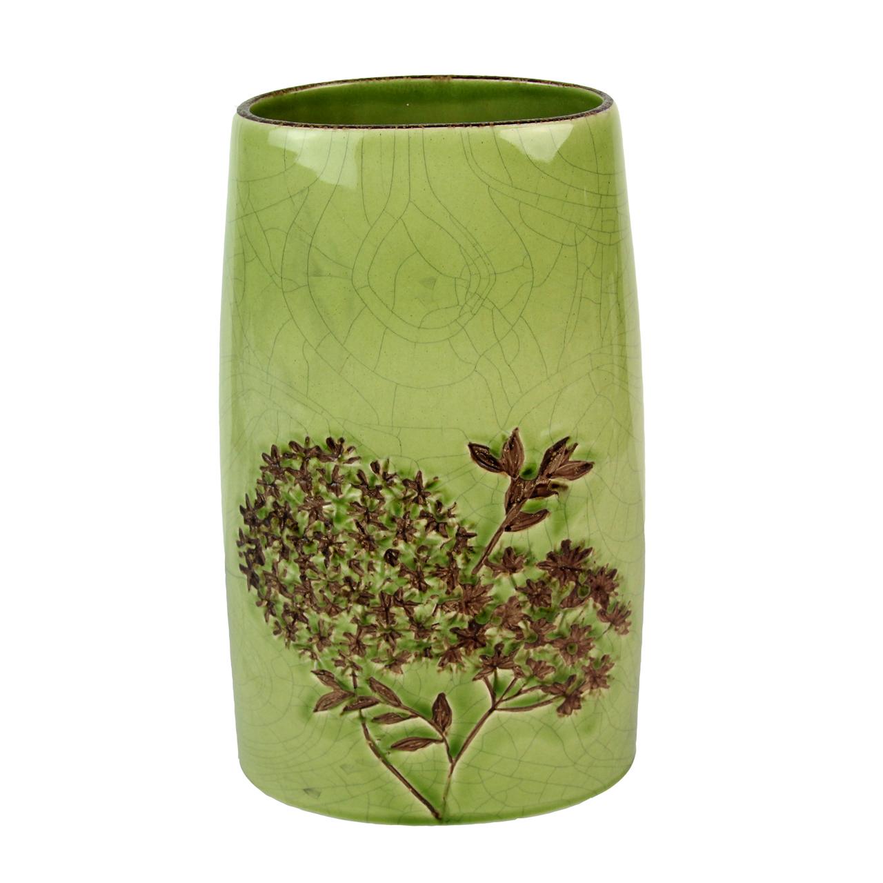 Vaza Din Ceramica Verde 30 Cm