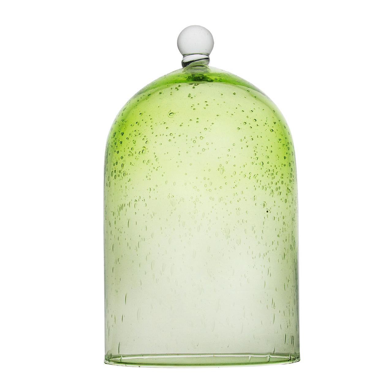 Cupola Din Sticla Verde 30 Cm