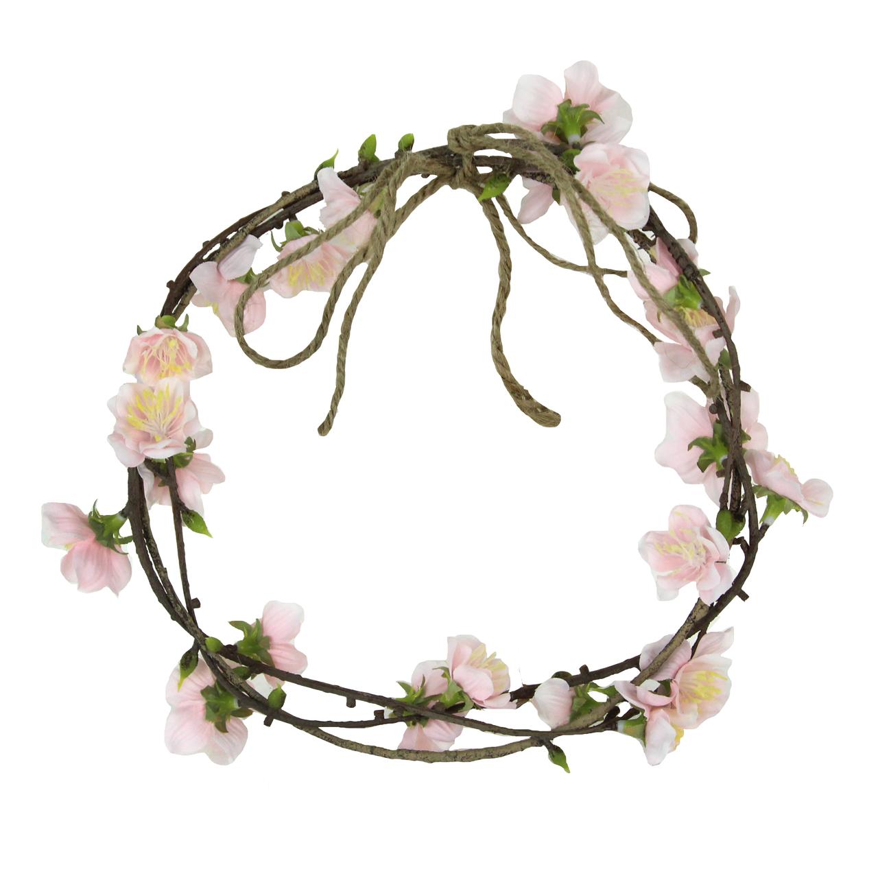 Coronita Cu Flori De Cires 20 Cm