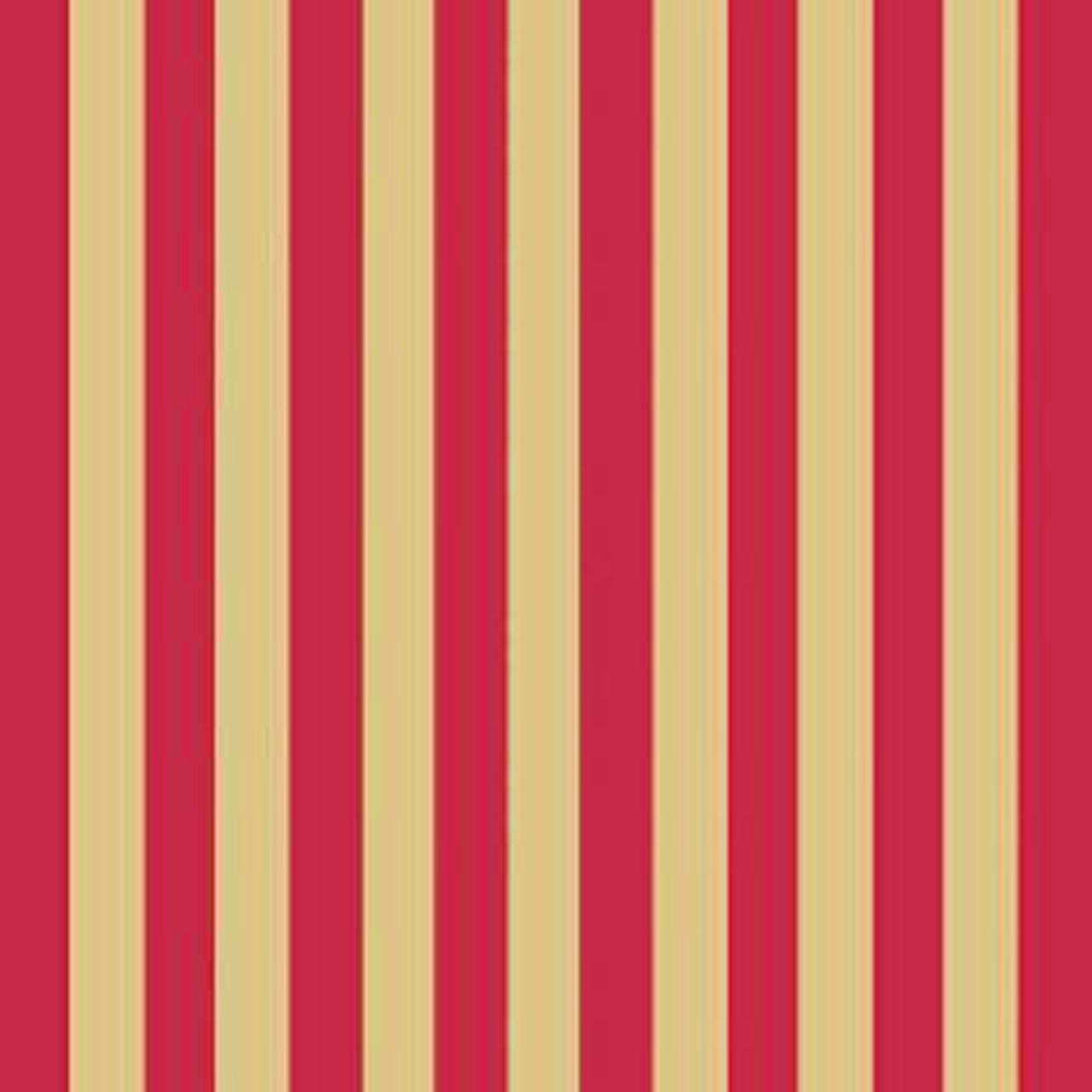 Servetele Decorative Din Hartie Cu Dungi Aurii Si Rosii 33 Cm