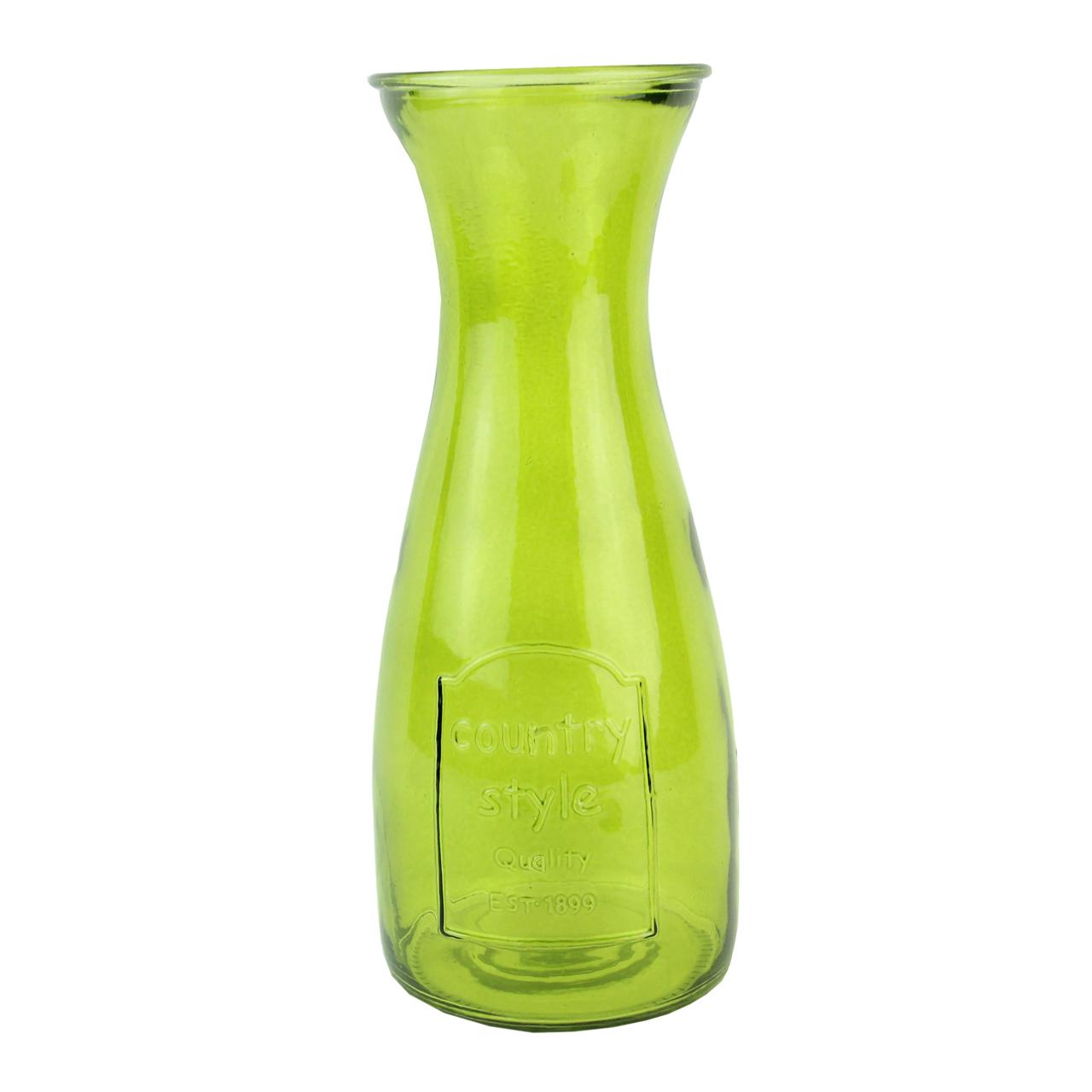 Carafa Din Sticla Verde 26 Cm