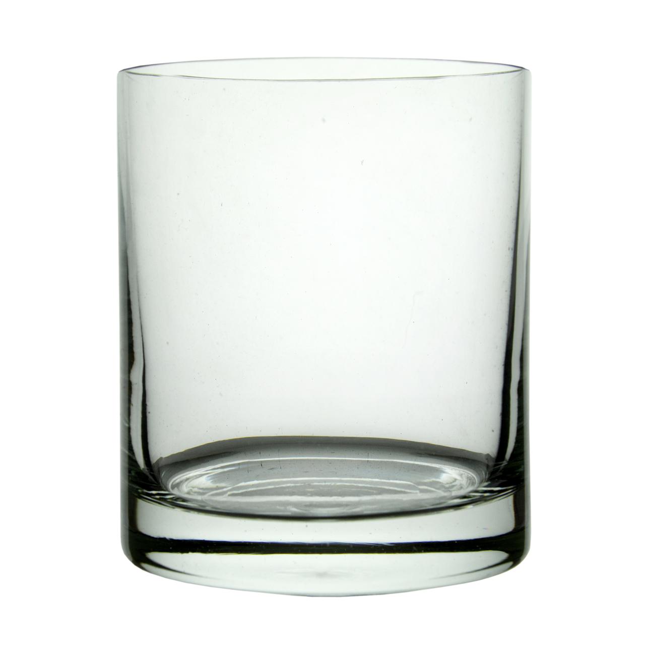 Recipient Cilindric Din Sticla 14 Cm