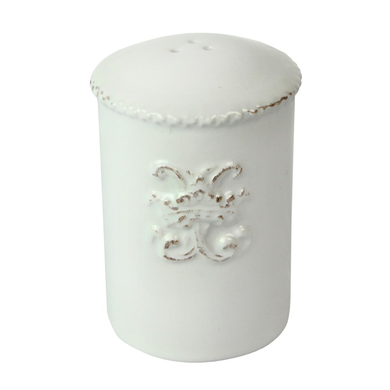 Solnita Din Ceramica Alba 8 Cm