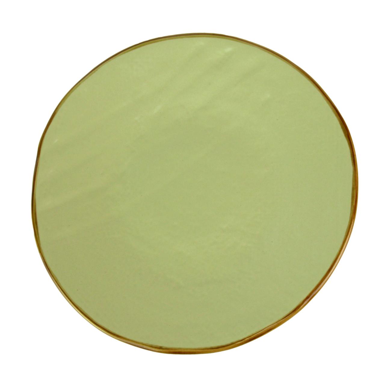 Farfurie Pentru Desert Tradition Din Ceramica Verd