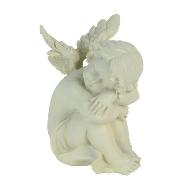 Statueta Ingeras Din Polirasina 14 Cm