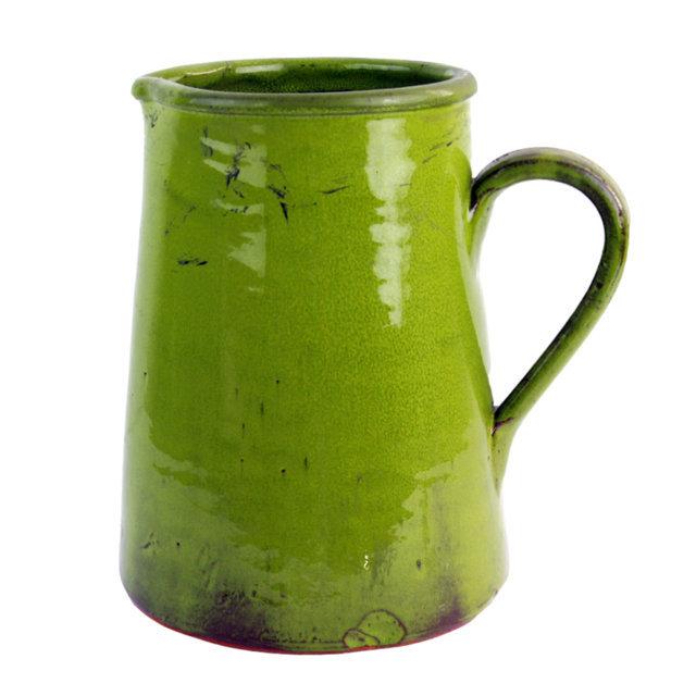Carafa Din Ceramica Verde 38 Cm