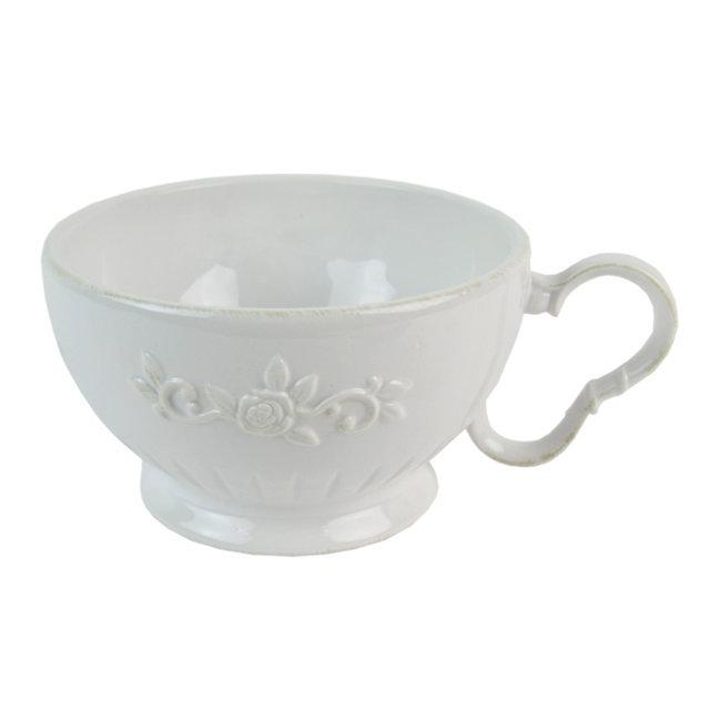 Ceasca Din Ceramica Alba