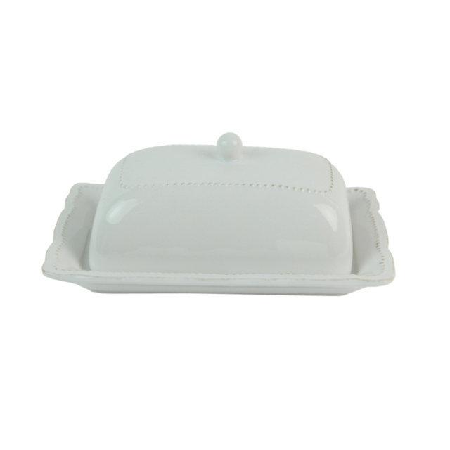 Untiera Din Ceramica Alba 18.5 Cm