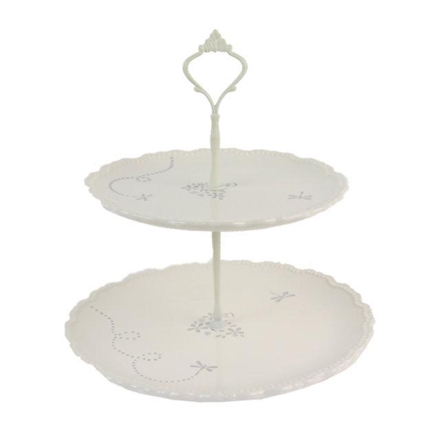 Tava Etajata Din Ceramica Pentru Prajituri 25 Cm