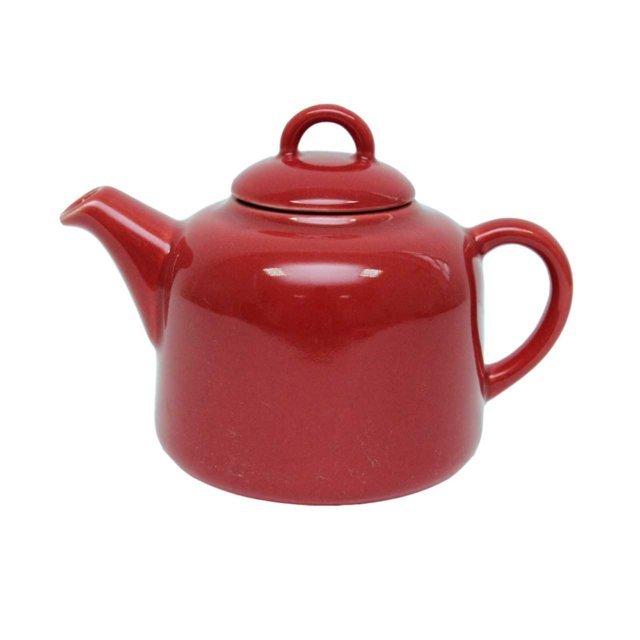 Ceainic Din Ceramica Rosie