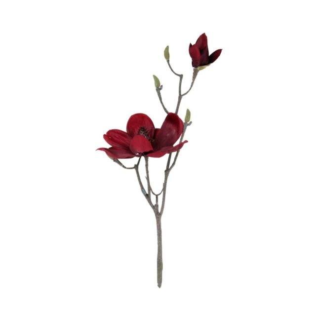 Floare Artificiala Magnolia Bordo 40 Cm
