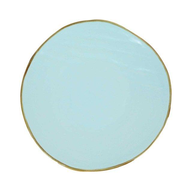 Farfurie Intinsa Din Ceramica Turcoaz