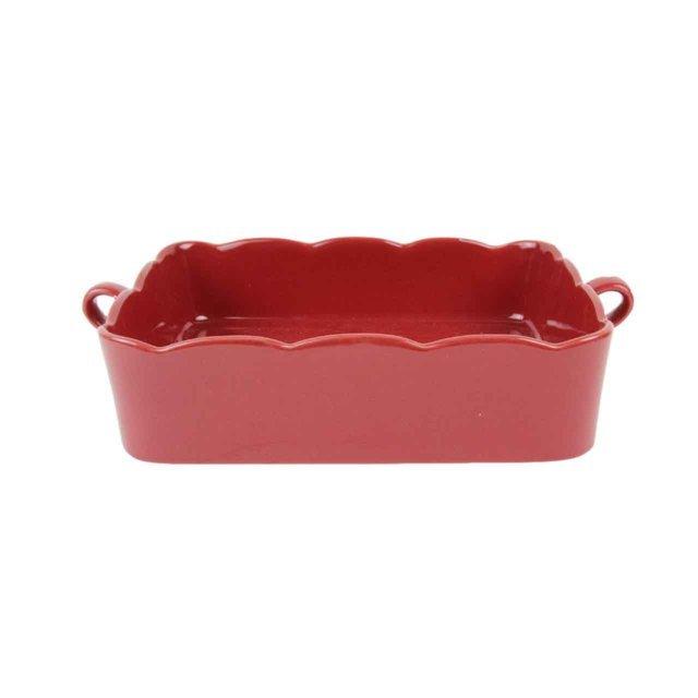 Tava Pentru Cuptor Din Ceramica Rosie 24.5 Cm
