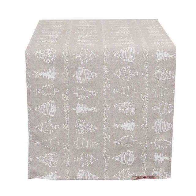 Runner Din Textil Cu Braduti 45x140 Cm
