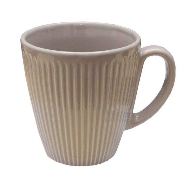 Cana Din Ceramica Gri 10 Cm