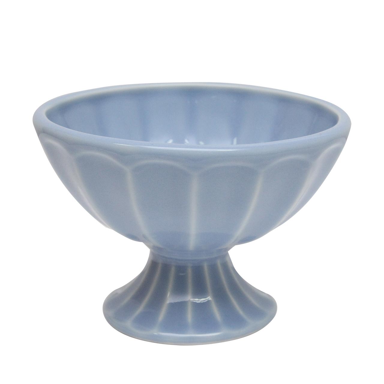 Cupa Din Ceramica Albastra Pentru Inghetata
