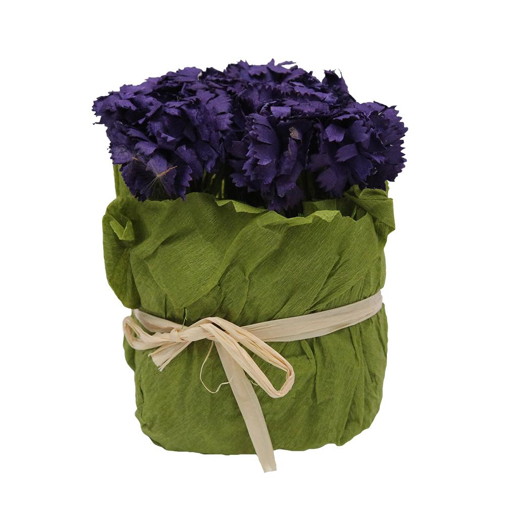 Floare Artificiala Buchet De Flori Din Hartie Mov 10 Cm