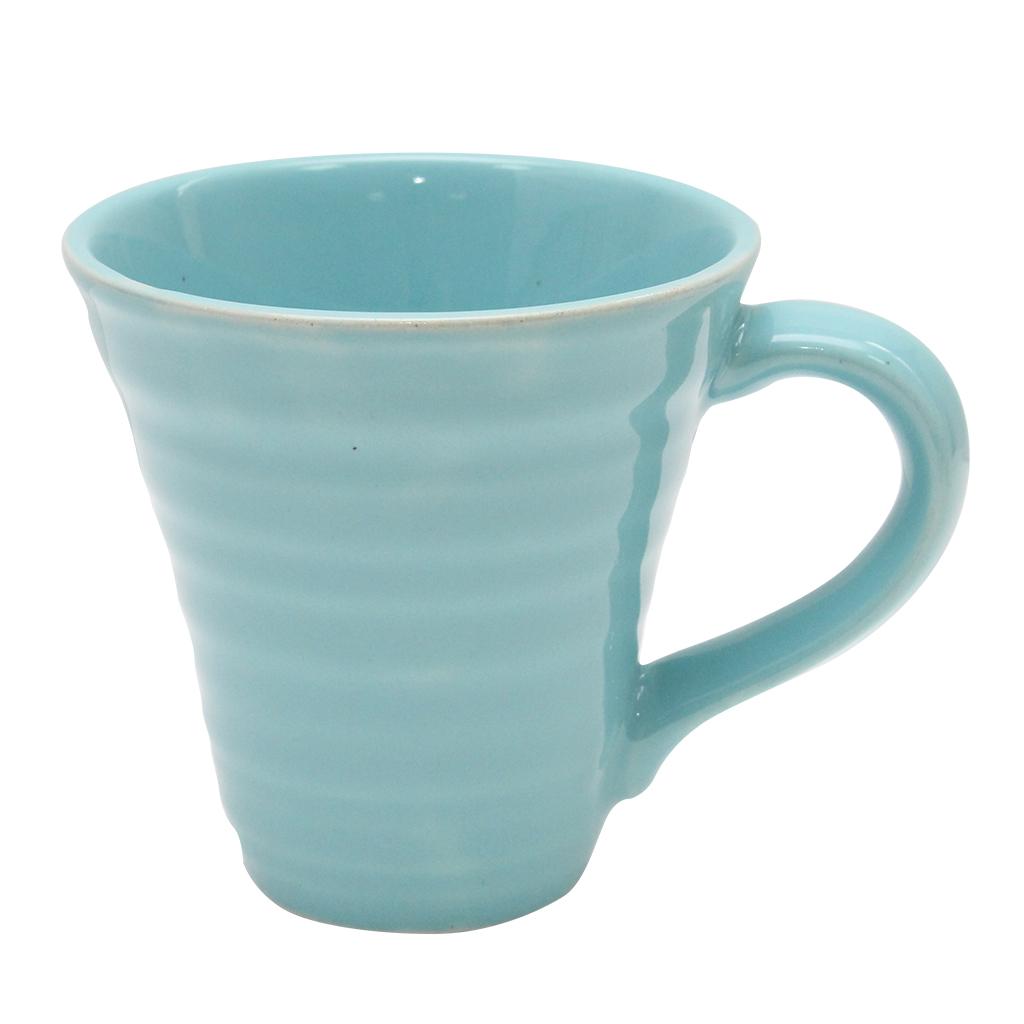 Cana Din Ceramica Turcoaz 11 Cm
