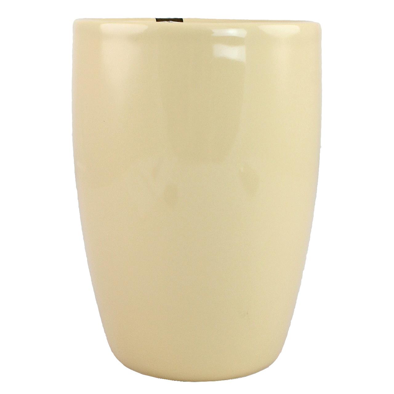 Vaza Din Ceramica Crem 17 Cm