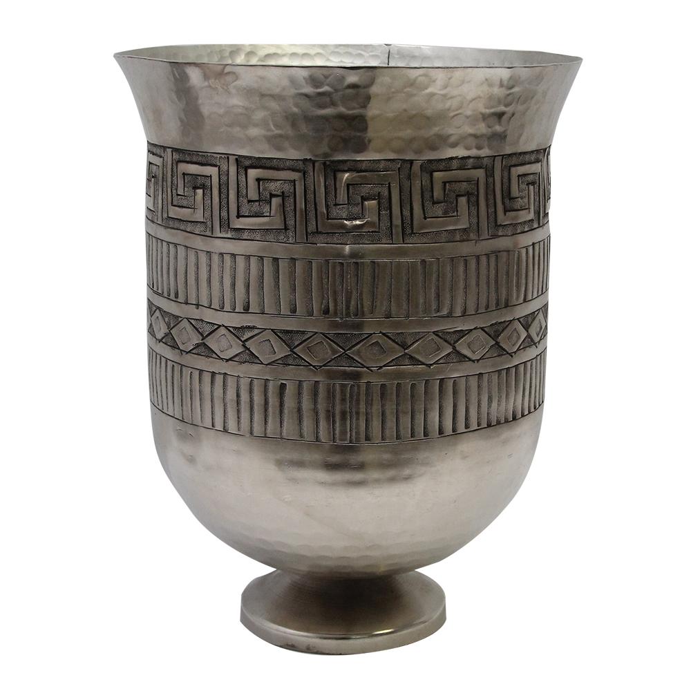 Vaza Din Aluminiu Argintiu Greece 28 Cm