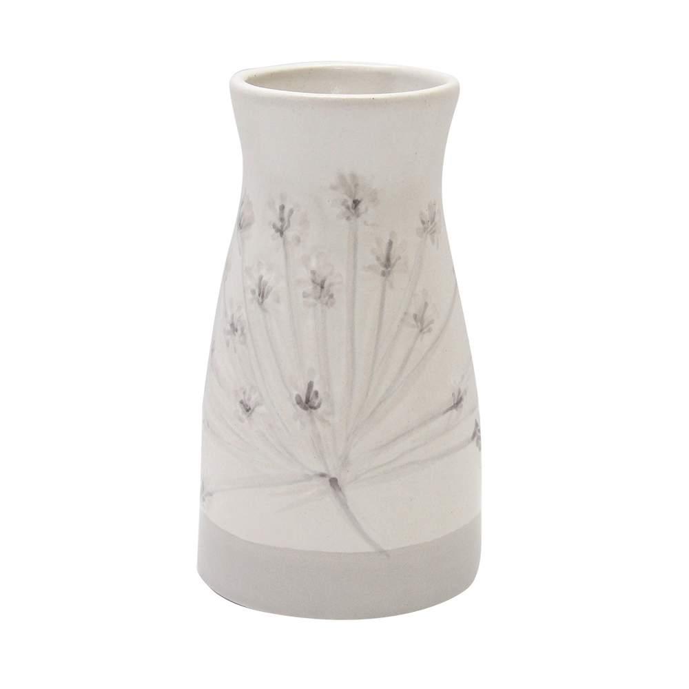 Vaza Dandelion Din Ceramica Crem 14 Cm