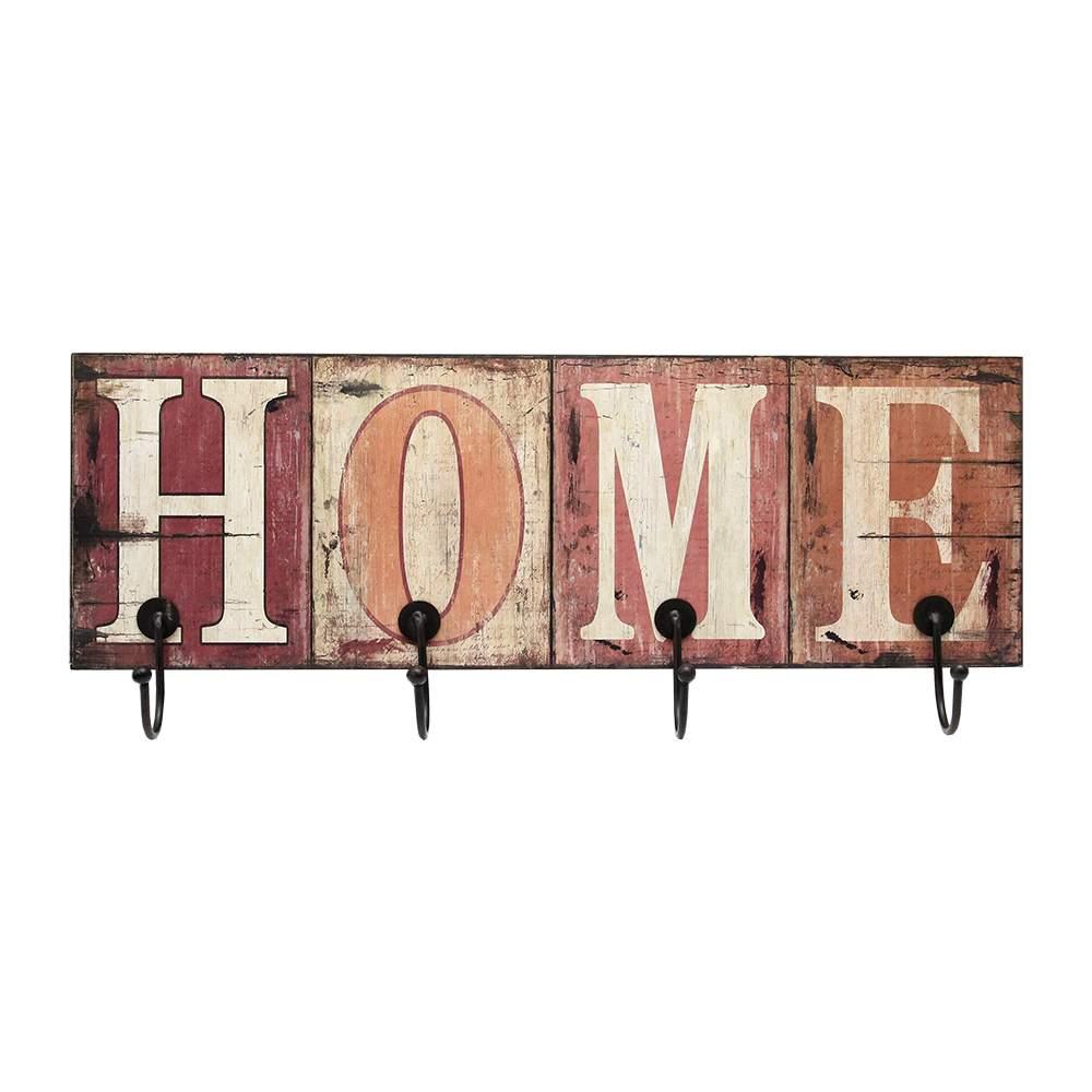 Cuier Home Cu Patru Carlige 55x18 Cm