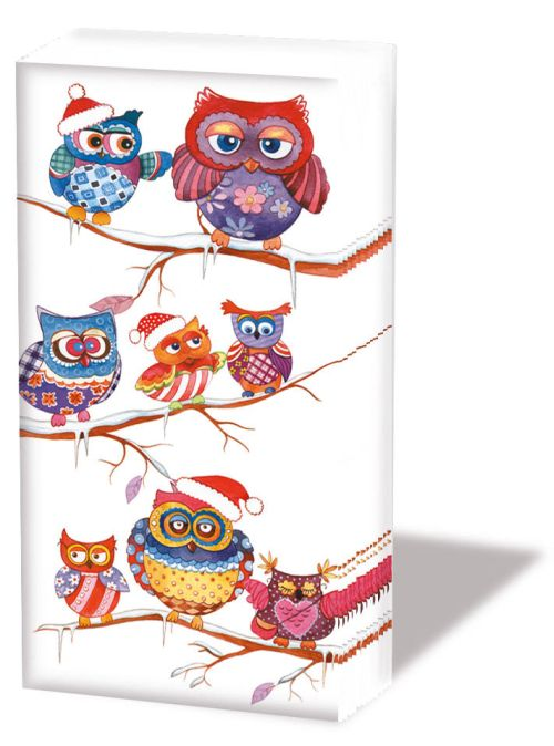 Batistute Christmas Owls