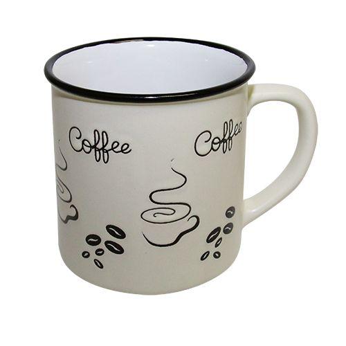 Cana Ceramica Fine Coffee Crem 10 Cm