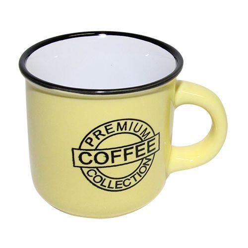 Cana Ceramica Premium Yellow 6.5 Cm