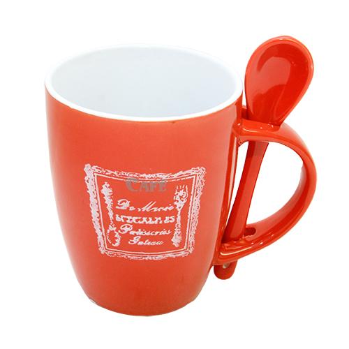 Cana din ceramica Special Red 8.5x10.5 cm