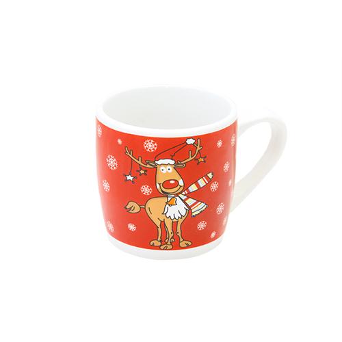Cana Reindeer Din Ceramica 8 Cm