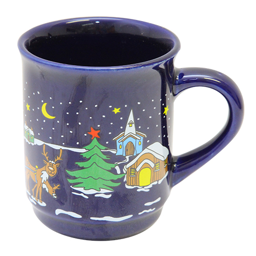 Cana Winter Din Ceramica 9 Cm
