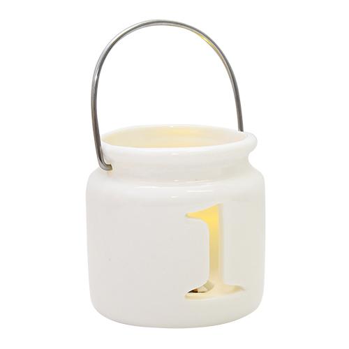 Candela Darling Din Ceramica Cu Led 7x7 Cm