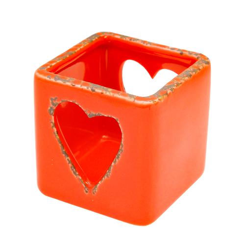 Candela Vintage Heart 6x6 Cm