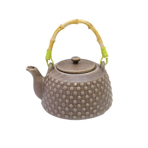 Ceainic Mareo Din Ceramica Maro 12x10 Cm