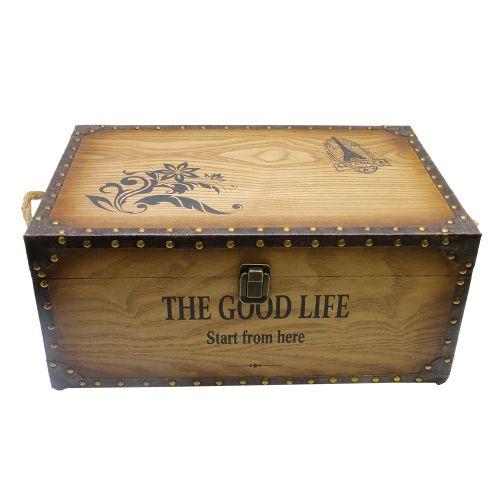 Cufar Good Life Din Lemn Maro 46x30x20 Cm
