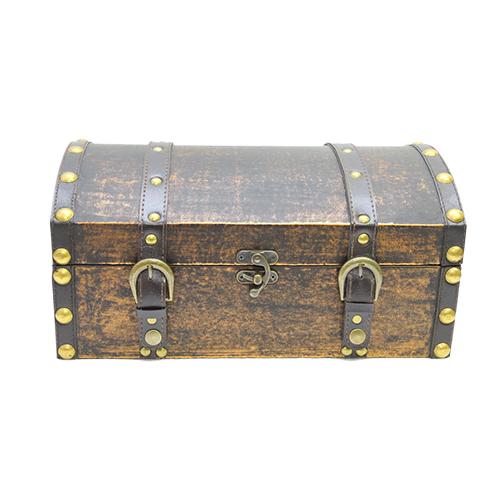 Cufar Treasure Din Lemn Maro 36x23x17 Cm