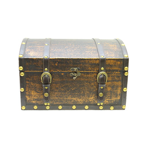 Cufar Treasure Din Lemn Maro 40x30x26 Cm