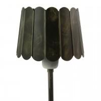 Abajur din metal maro 17 cm
