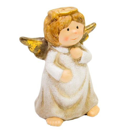 Deco Delicate Angel Din Ceramica 8x5x11 Cm